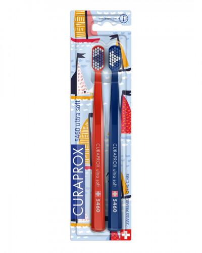 Οδοντόβουρτσα CS 5460 Έκδοση Sailing κόκκινη και μπλε μαρέν, 2 τμχ.
