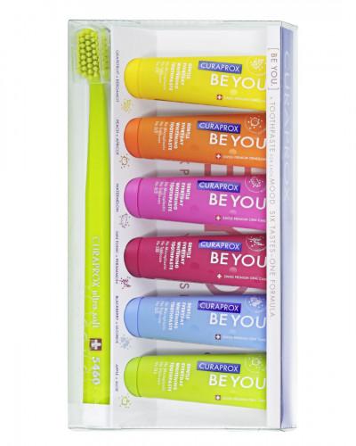 Οδοντόκρεμα Be you six taste pack, με οδοντόβουρτσα